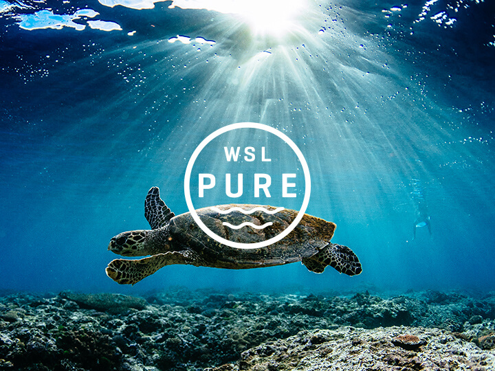 Shiseido Blue Project We Are One Ocean WSL Pure