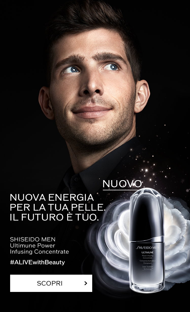 LIVIN UP YOUR LOOK OWN YOUR FUTURE - SHISEIDO MEN Ultimate Power Infusing Concentrate