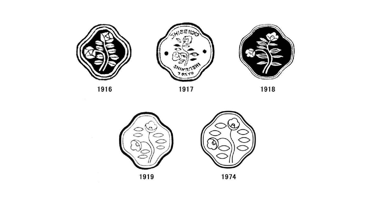 Storia del logo Shiseido (1916-1974)
